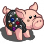 Fabulous Bedazzled Pig-icon