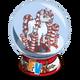 Candy Cane Unicorn Snow Globe-icon