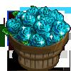 Aquamarine Rose Bushel-icon