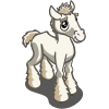 White Shire Foal-icon