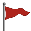 Red Flag-icon