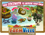 Hawaiian Paradise Earn More Coconuts Loading Screen