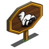 Silverback Skunk Mastery Sign-icon