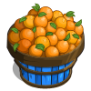 Orange Basket-icon