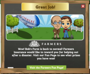 Farmers Insurance Farm Thank You