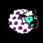 Masked dotted Ewe