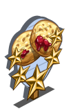 Barley Crumpets 5 Star Mastery Sign-icon