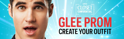 Glee Prom Closet Confidential