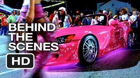2 Fast 2 Furious Behind The Scenes - Pink Car (2003) - Paul Walker Movie HD