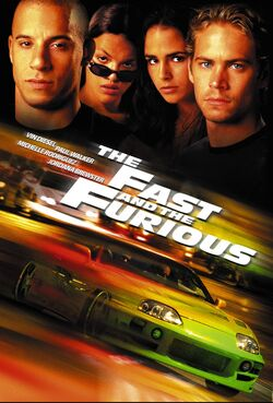 The Fast and the Furious (DVD Cover)