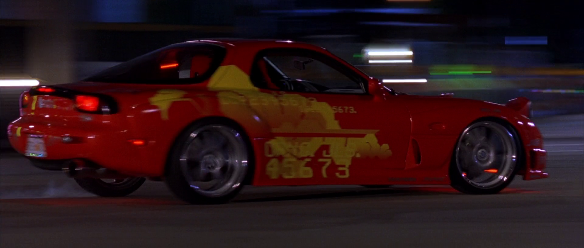 1993 Mazda RX-7 (Orange Julius) | The Fast and the Furious ...