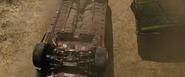Brian's Subaru - Flipped Upside Down