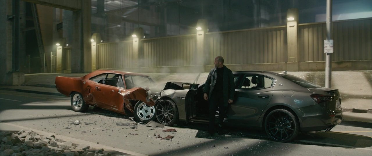 Image - Dom's Road Runner vs. Deckard's Maserati.jpg | The