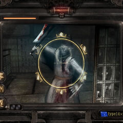 Viewfinder mode in <i>Fatal Frame III: The Tormented</i>