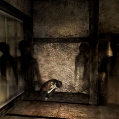 Yoshino tormented by the shadows.