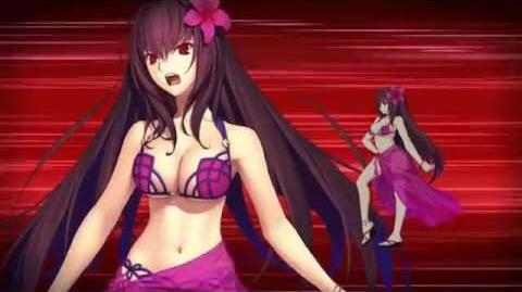 FGO 2016 Summer Event- Scathach (Assassin) Noble Phantasm