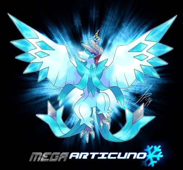Mega Articuno by ArcaneMagikarp on DeviantArt