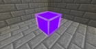 Purple Lamp Lit