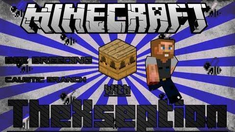 Minecraft FTB Bee Breeding Tutorial Corrosive, Caustic, Acidic