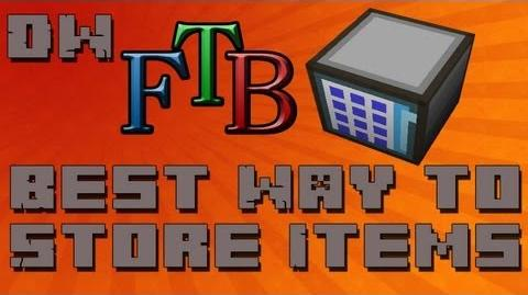 Best Way To Store Items In Feed The Beast (AE Storage) - Beginner Tutorial - Ep