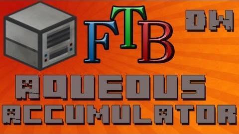 How To Use The Aqueous Accumulator Feed The Beast Tutorial - Ep