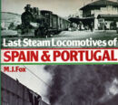Last Steam Locomotives of Spain & Portugal (libro, 1978)