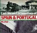 Last Steam Locomotives of Spain & Portugal (libro, 1978)