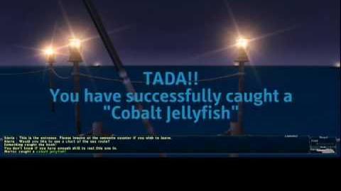 Cobalt Jellyfish