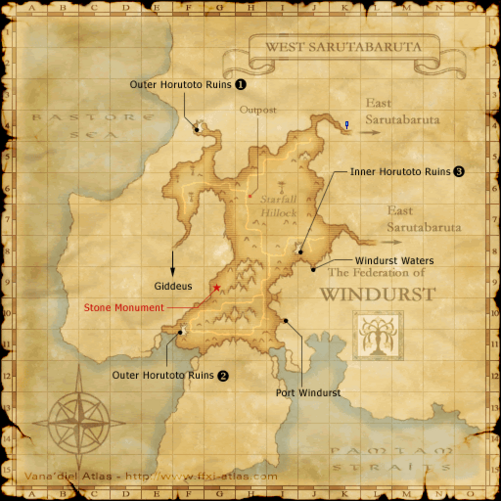west sarutabaruta ffxiclopedia fandom powered by wikia ffxi field manual locations ffxi field manual leveling guide