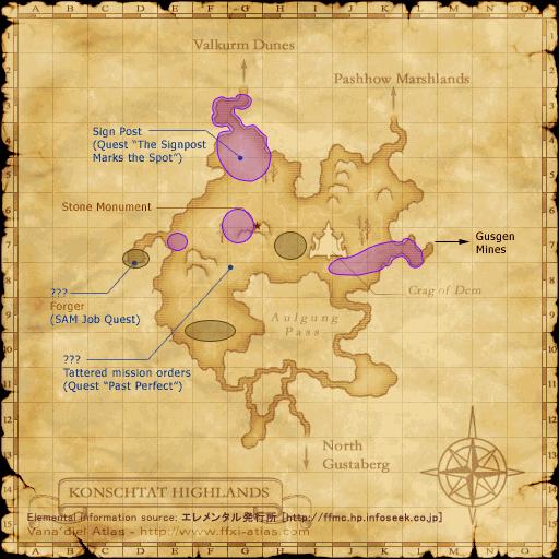 Ffxi Qufim Island Map