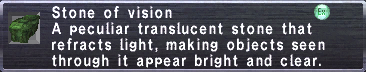 Vision Stone - FFXIclopedia, the Final Fantasy XI wiki - Characters ...
