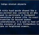 Indigo Stratum Abyssite