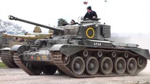 Comet tank 1080p HD, tiger day 2013 @ bovington tank museum