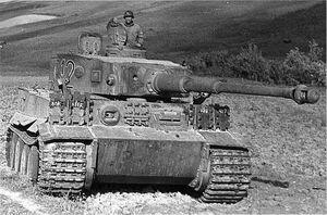 PzVI Ausf E USA