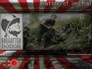 FHT Battle of Imphal 1944