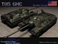 T95 Super Heavy Tank
