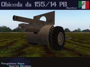 Obice da 155-14 PB