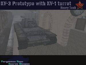 KV-3 Prototype