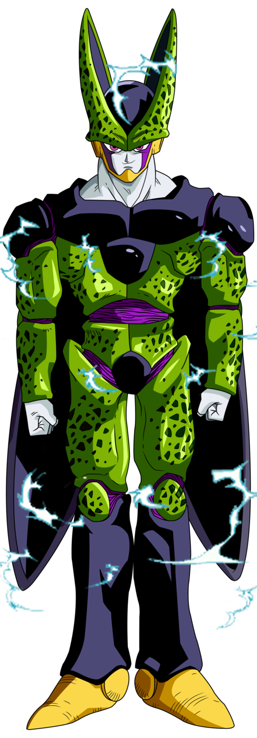 Image - Cell Super Perfect Form Dragon Ball Z.png | Fictional ...