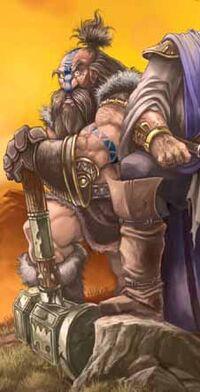 Wildhammer dwarfArt