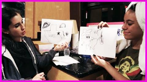 Fifth Harmony - Lauren & Dinah Drawing Competition - Fifth Harmony Takeover Ep
