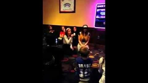 "Camila Cabello singing Karaoke ""1 1"" by Beyonce (Creds to Papa H)"