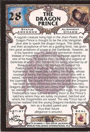 28 The Dragon Prince US back