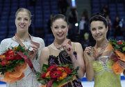 2009 EC Ladies Podium