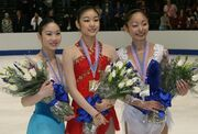 2008 Skate America Ladies Podium