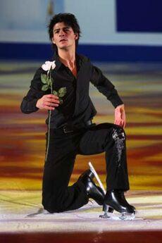 Stephane LAMBIEL Grand Prix Final 2007-2008 EX