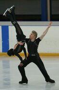 Isabelle Delobel & Olivier Schoenfelder Lift 2 - 2007 Europeans