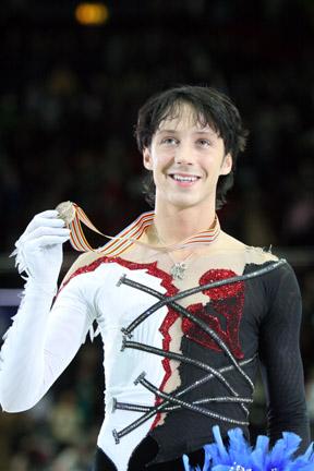 Johnny WEIR 2008 World Championships