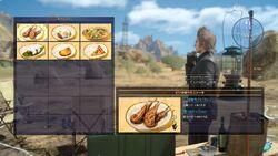 Food Menu XV