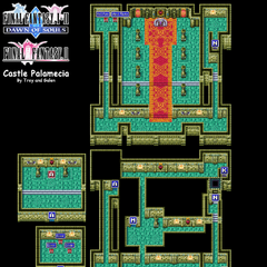 Castle Palamecia's Map (GBA).